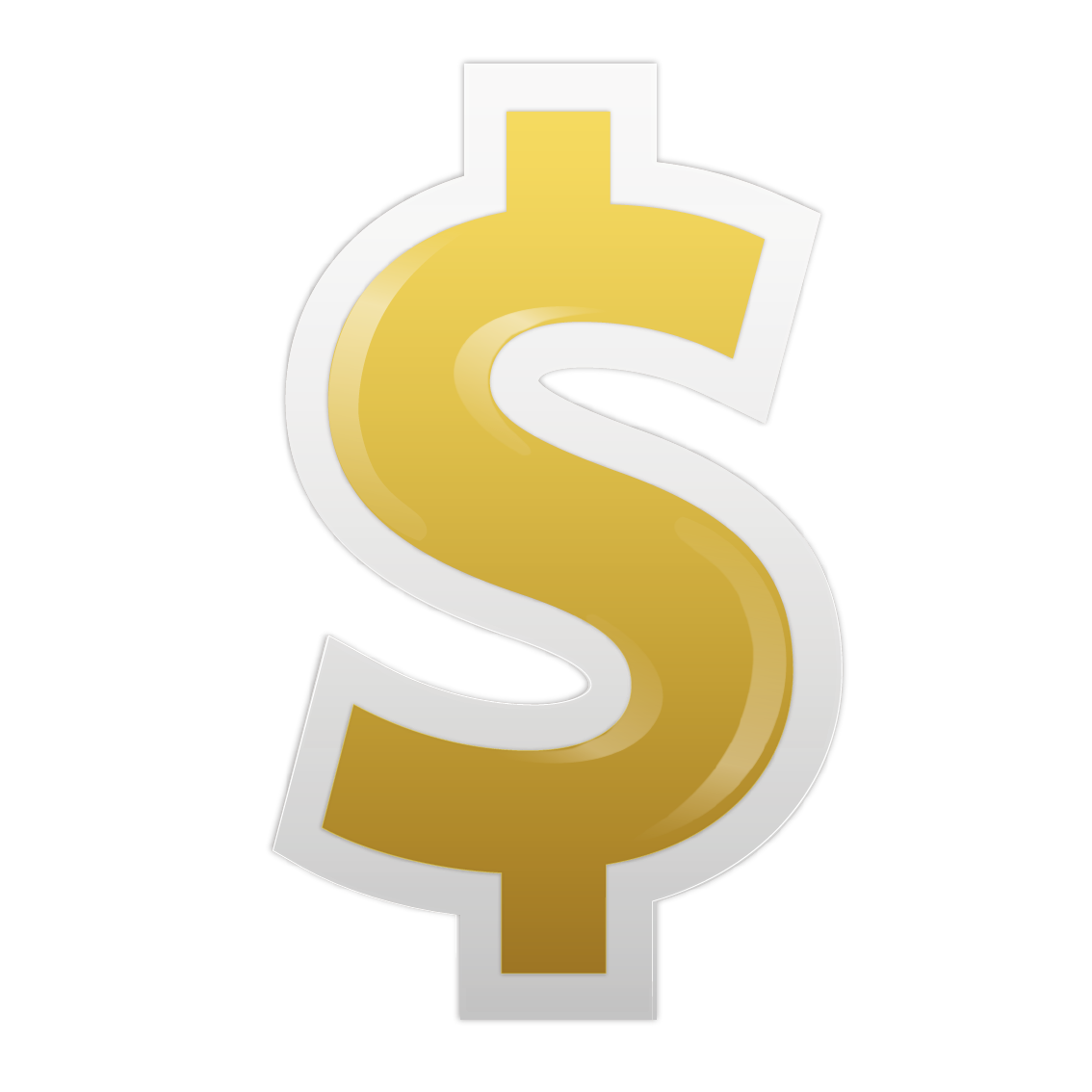 United Symbol Dollar Sign States Vector PNG Image