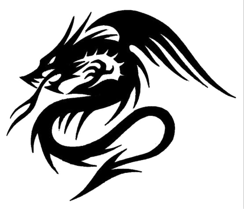 9c35cf2a9 Download PNG image - Tattoo Tattoos Drawing Dragon Free Transparent Image  HD 224