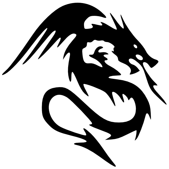 Dragon Tattoos High-Quality Png PNG Image