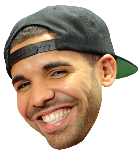 Drake Face Clipart PNG Image