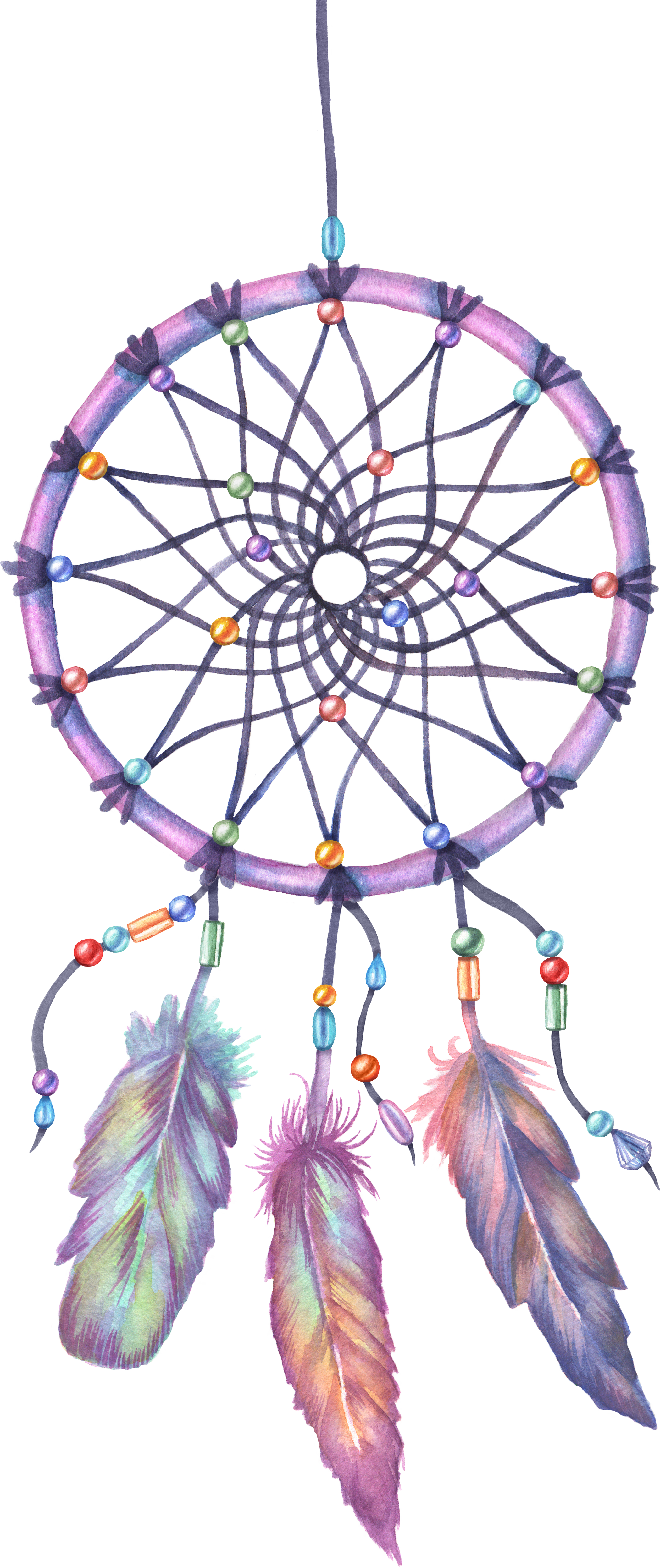 Drawing Dreamcatcher Free Transparent Image HD PNG Image