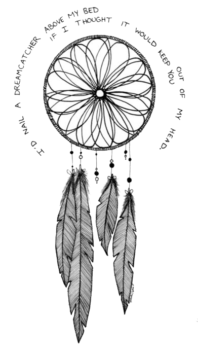 Tattoo Drawing Dreamcatcher Free Clipart HQ PNG Image