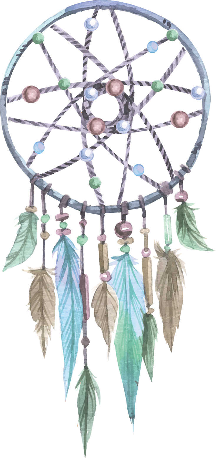 Dreamcatcher Painted Craft Invitation Birthday Vector Wedding PNG Image