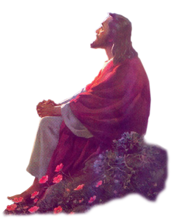 On Walking Christ Photography Jesus Water Religion PNG Image
