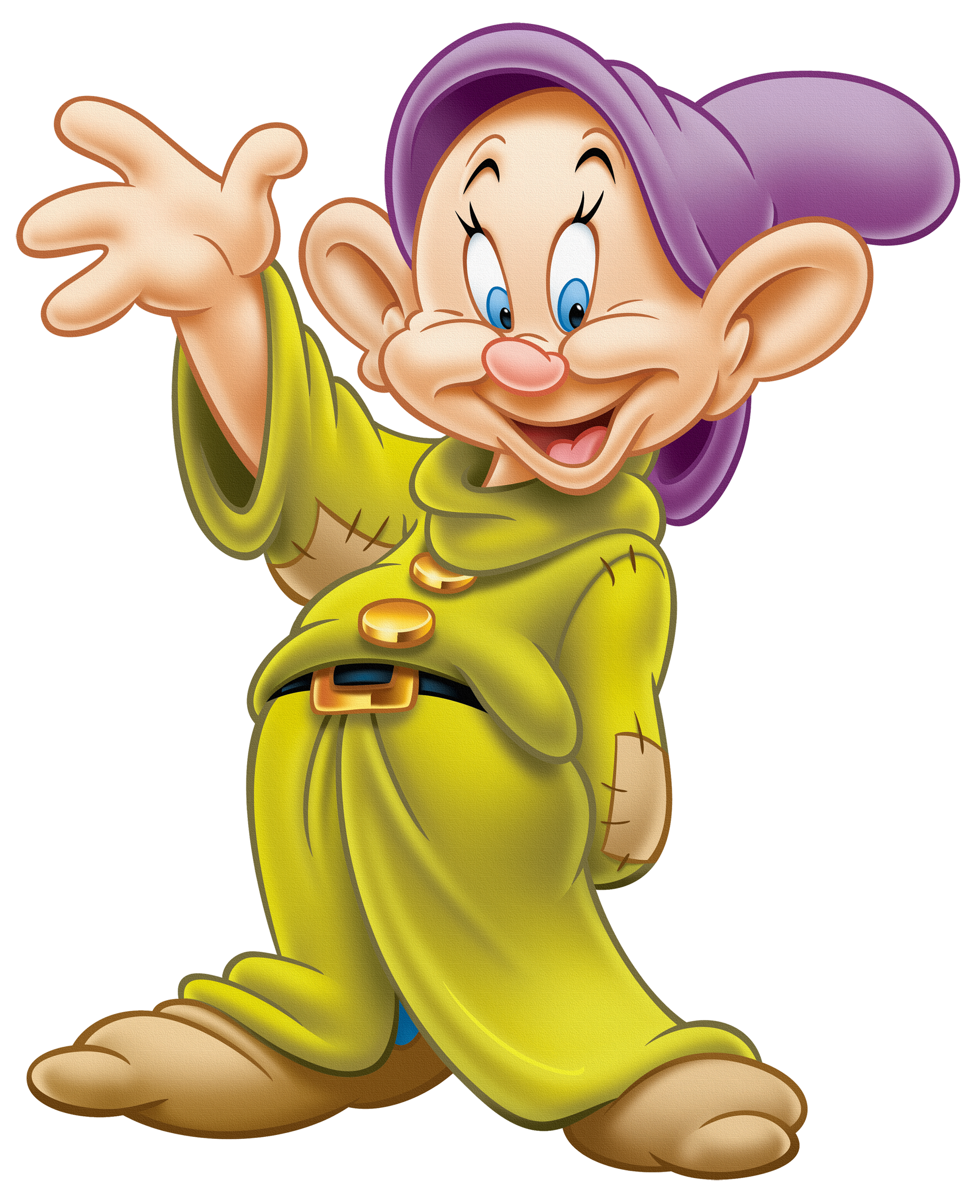 Mickey Seven Dwarfs Dopey Mouse Transparent PNG Image