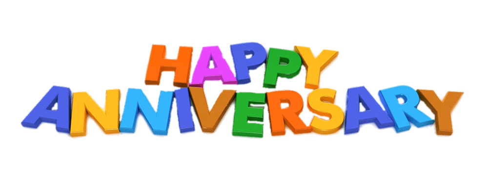 Happy Anniversary Free HD Image PNG Image