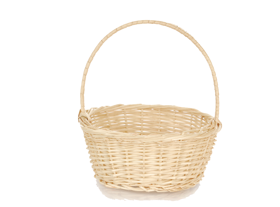 Empty Easter Basket Transparent Picture PNG Image