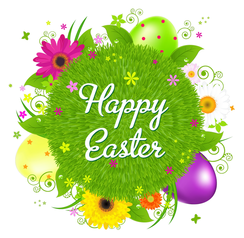 Happy Easter Transparent Image PNG Image