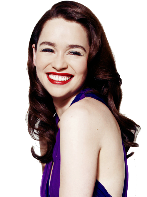 Emilia Clarke Photo PNG Image