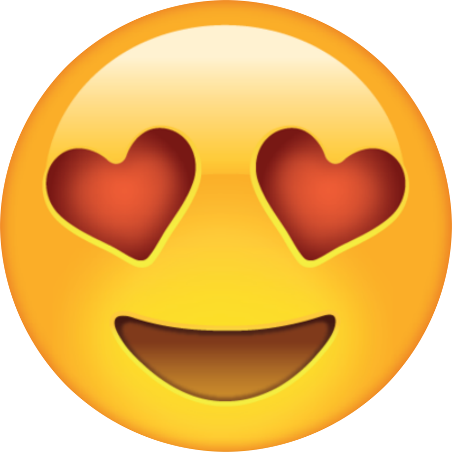 Emoticon Heart Love Emoji PNG Free Photo PNG Image