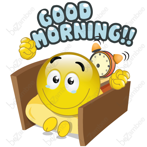 Emoticon Good Smiley Morning Emoji Free Download Image PNG Image
