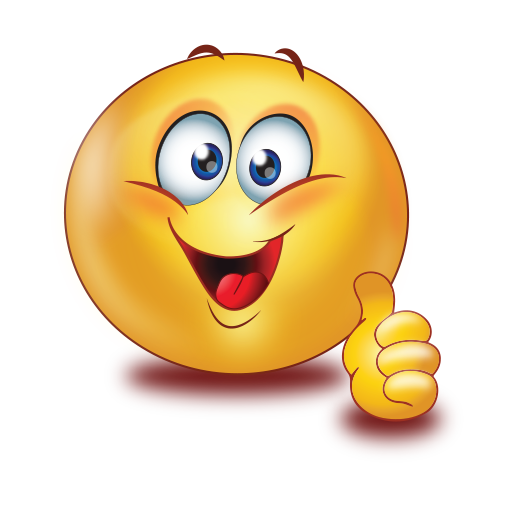 Emoticon Smiley Sticker Honda Up Amaze Thumbs PNG Image