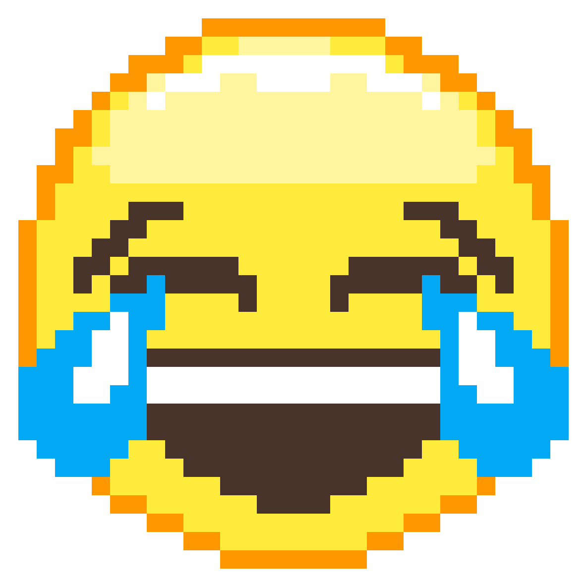 Emoticon Art Symmetry Of Face Tears Joy PNG Image
