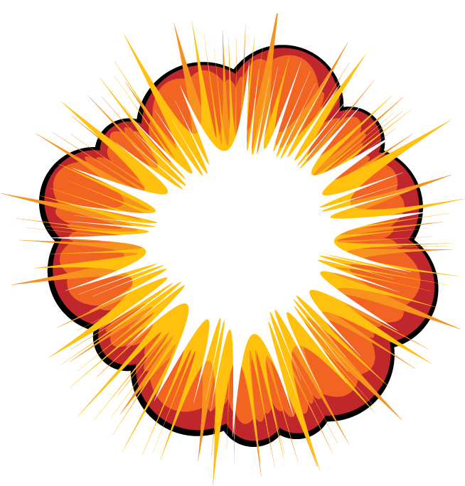 Sound Sonic Flower Explosion Symmetry Boom PNG Image