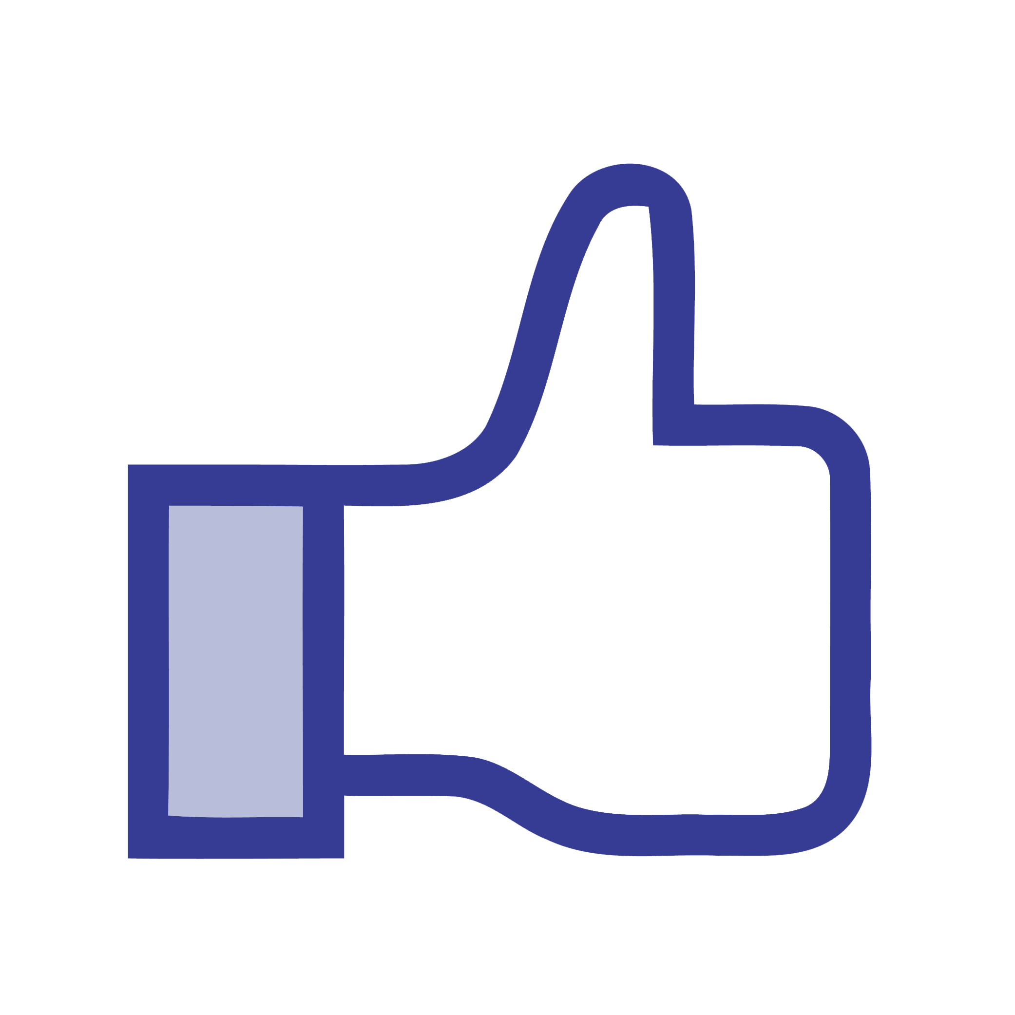 Facebook Like Photo PNG Image