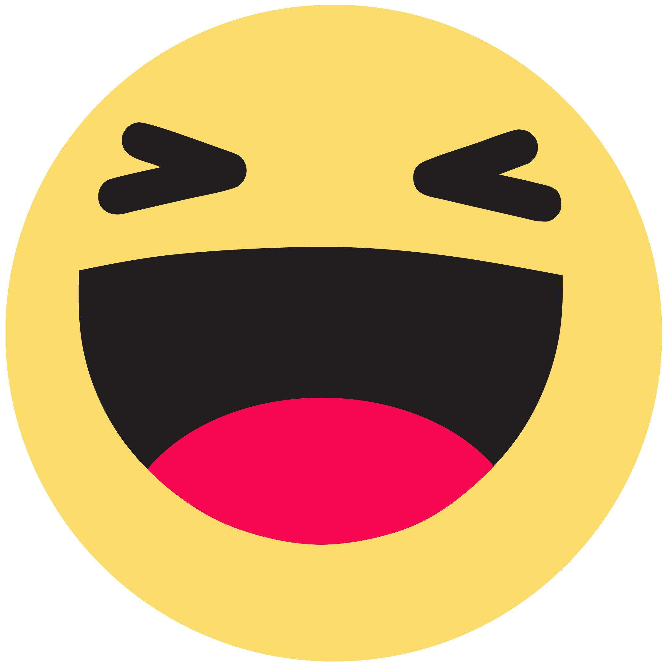 Download Emoticon Like Button Haha Facebook Emoji Hq Png Image Freepngimg