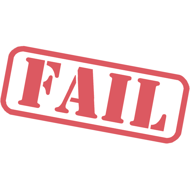 Fail Stamp Free Download Png PNG Image