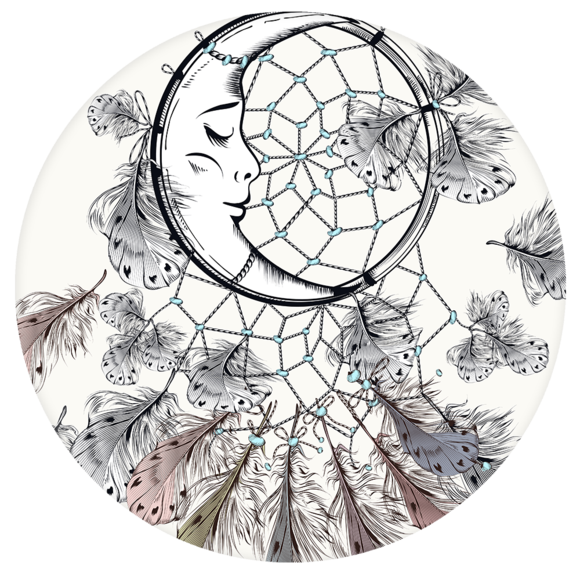 Boho-Chic Dreamcatcher Download Free Image PNG Image
