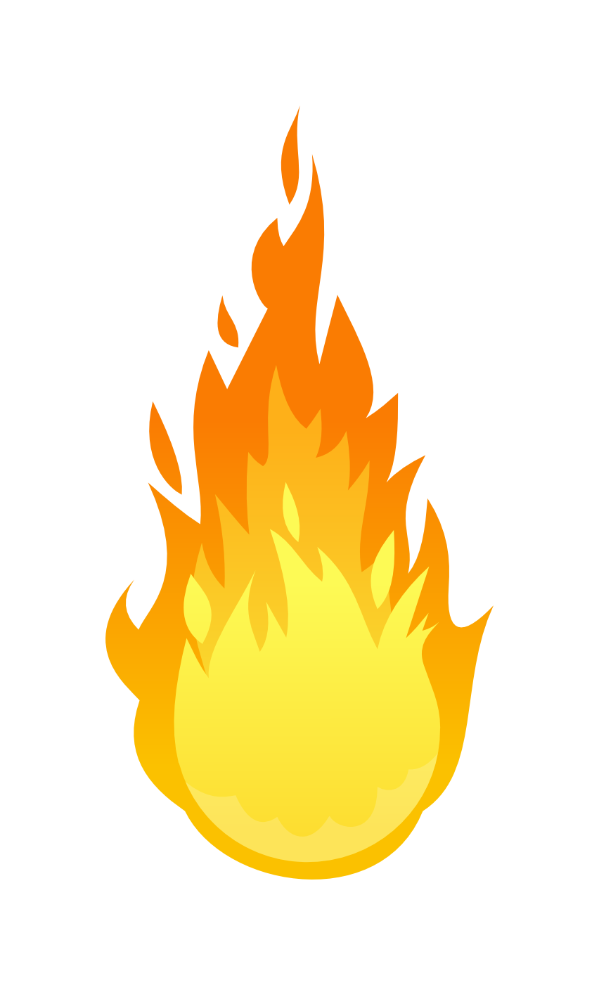 Fire Flame Transparent PNG Image