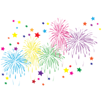 Download Fireworks Free PNG photo images and clipart ... Merry Christmas And Happy New Year 2017 Clip Art