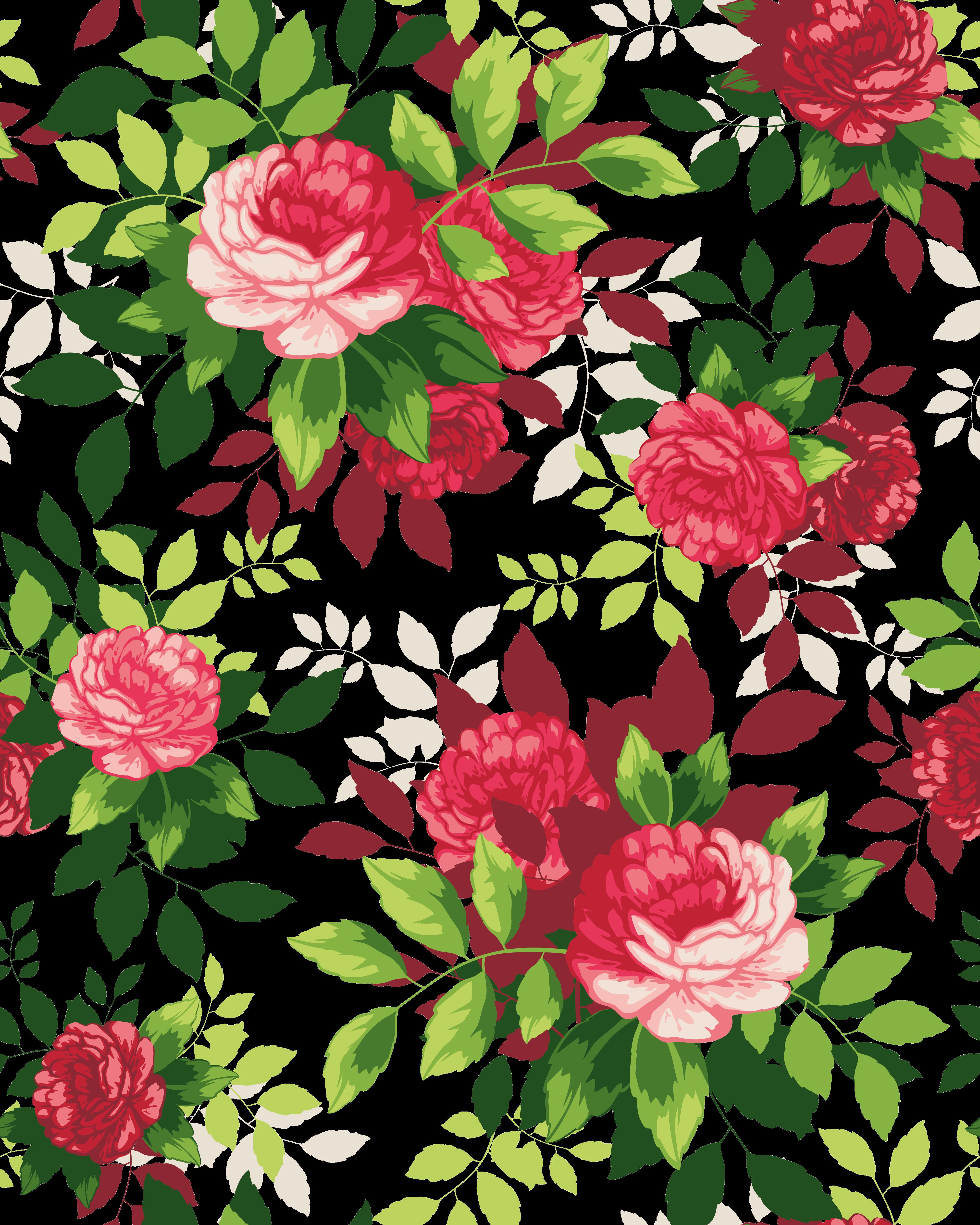 Download Beautiful Flower Illustration Shading Flowers