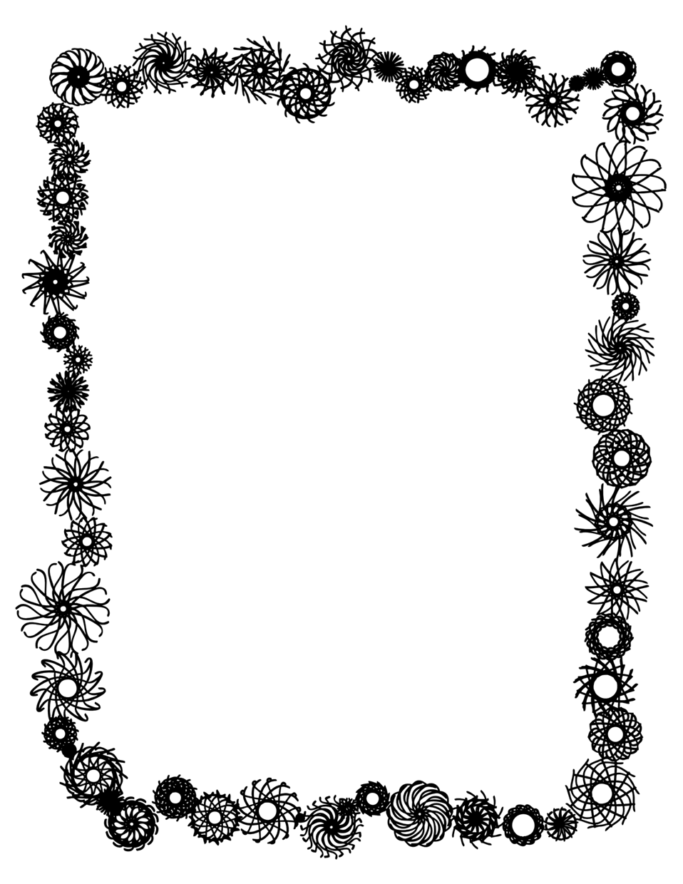 And Openclipart Picnic Stationery Vector Graphics Frames PNG Image
