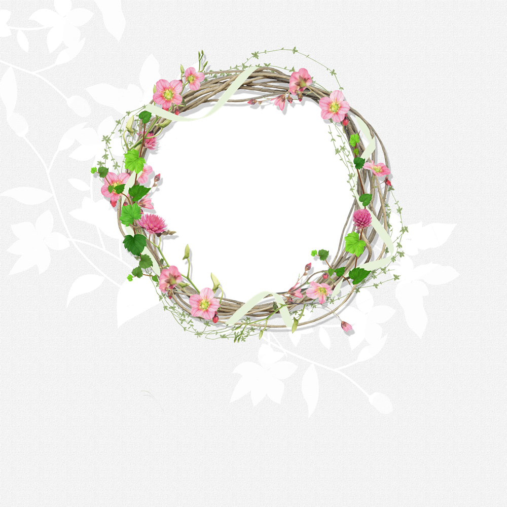 Picture Flower Ps Material Creative Border PNG Image