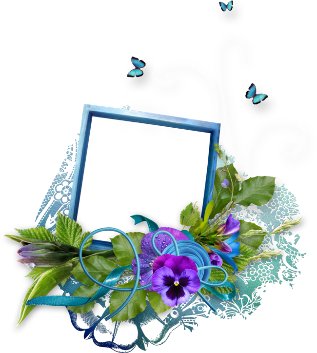 Simple Frame Flower HQ Image Free PNG PNG Image