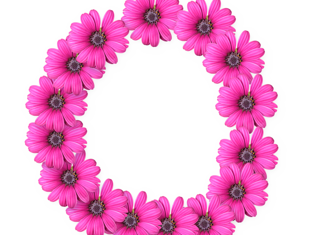 Cut Art Flower Design Floral Flowers Pixel PNG Image