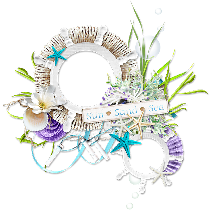 Picture Frame Flower Material Pull Free Photo PNG PNG Image