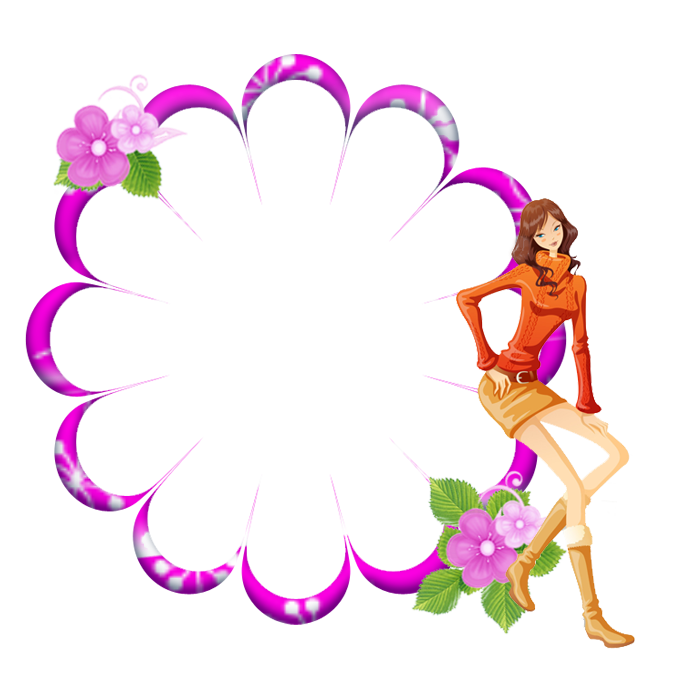Flower Portable Design Graphics Border Network PNG Image