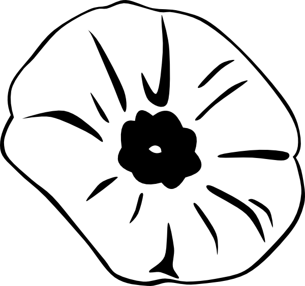 Flower Face Remembrance Poppy Day Armistice PNG Image
