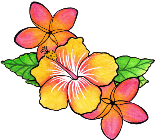 Flower Tattoo Png Clipart PNG Image