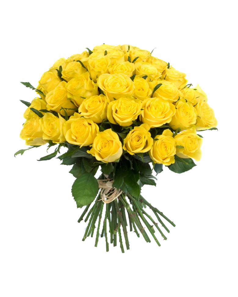 Yellow Flowers Bouquet Transpa Hq Png Image