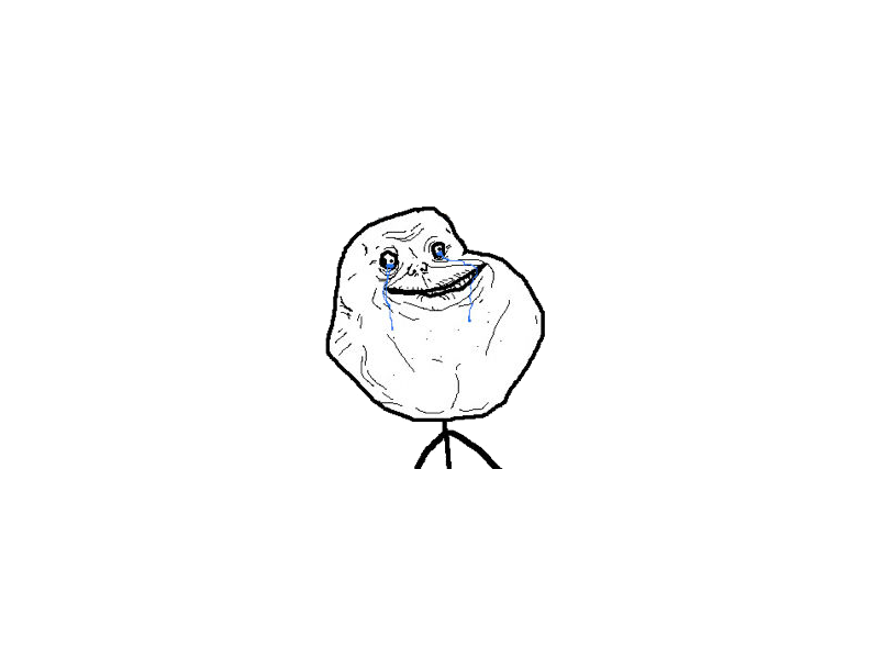 Forever Alone Picture PNG Image