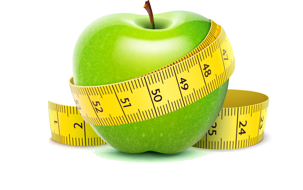 Loss Management Apple Weight Dieting Healthy Diet PNG Image