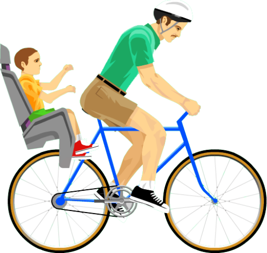 Bicycle Game Video Cycling Wheels Happy PNG Image