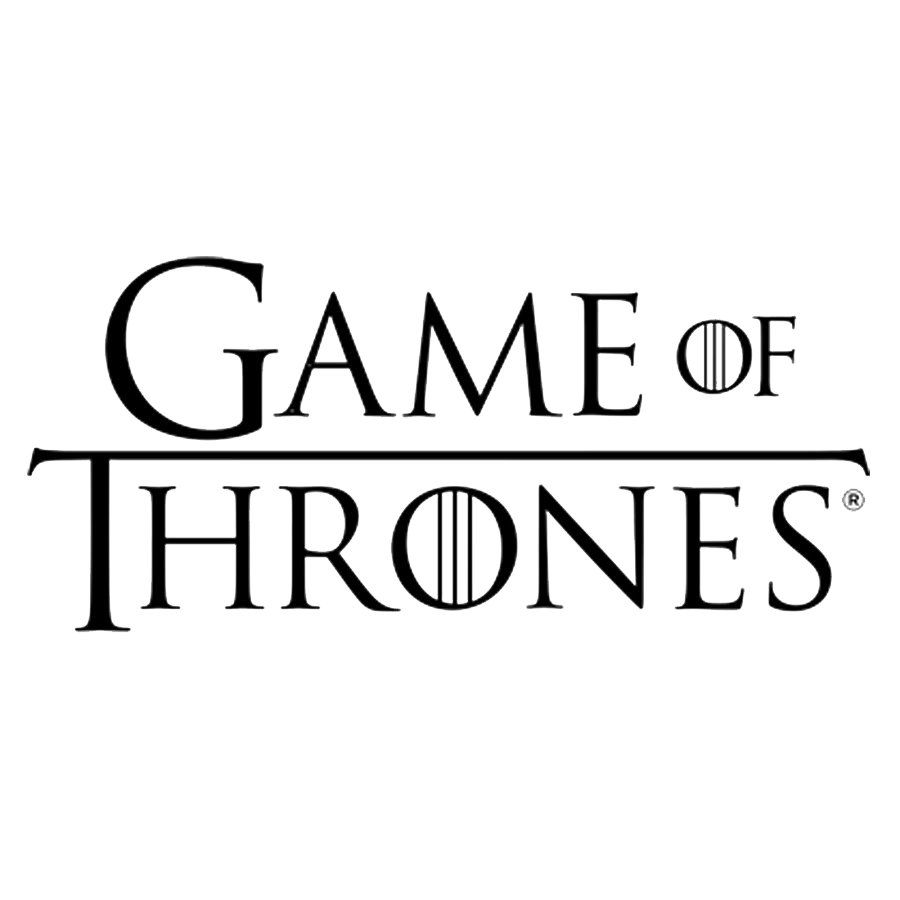 Download Hbo Thrones Of Game Text Logo White HQ PNG Image ...