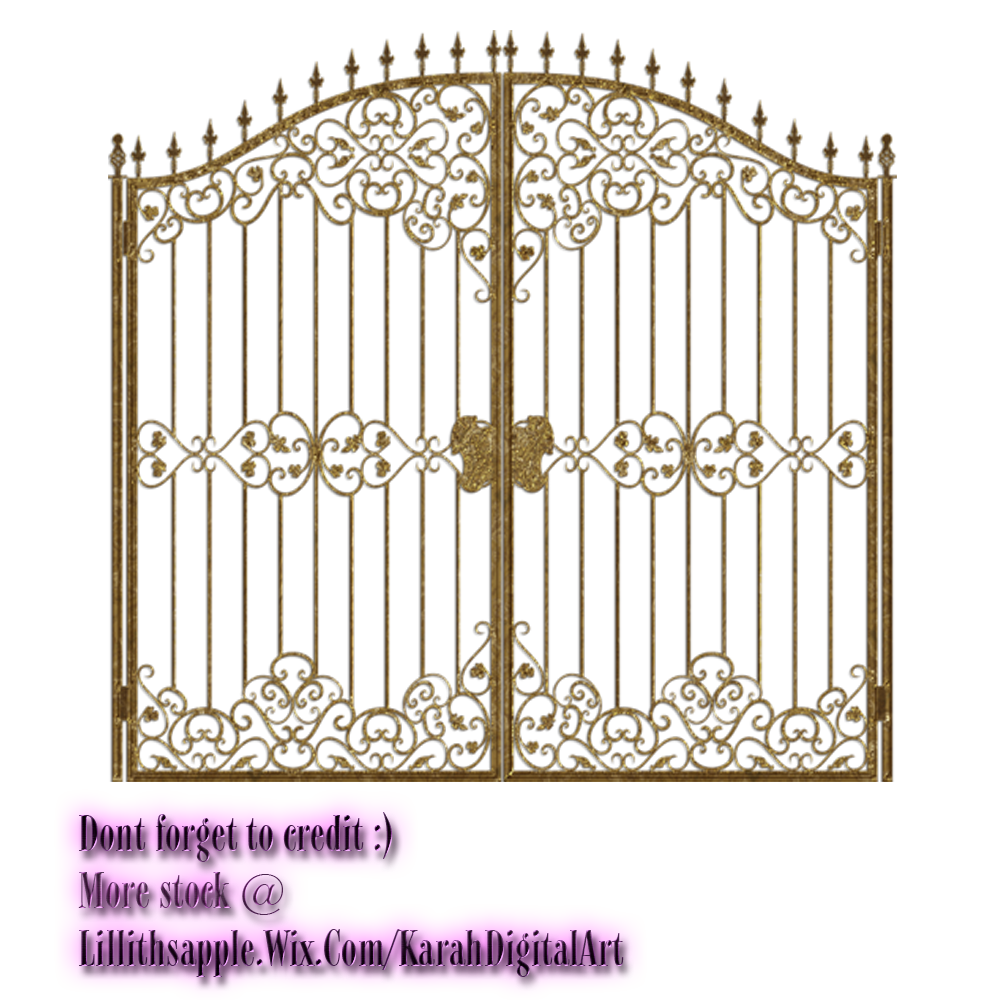 Gate Clipart PNG Image