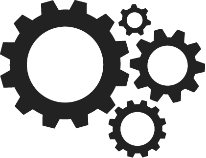 Gears Transparent PNG Image