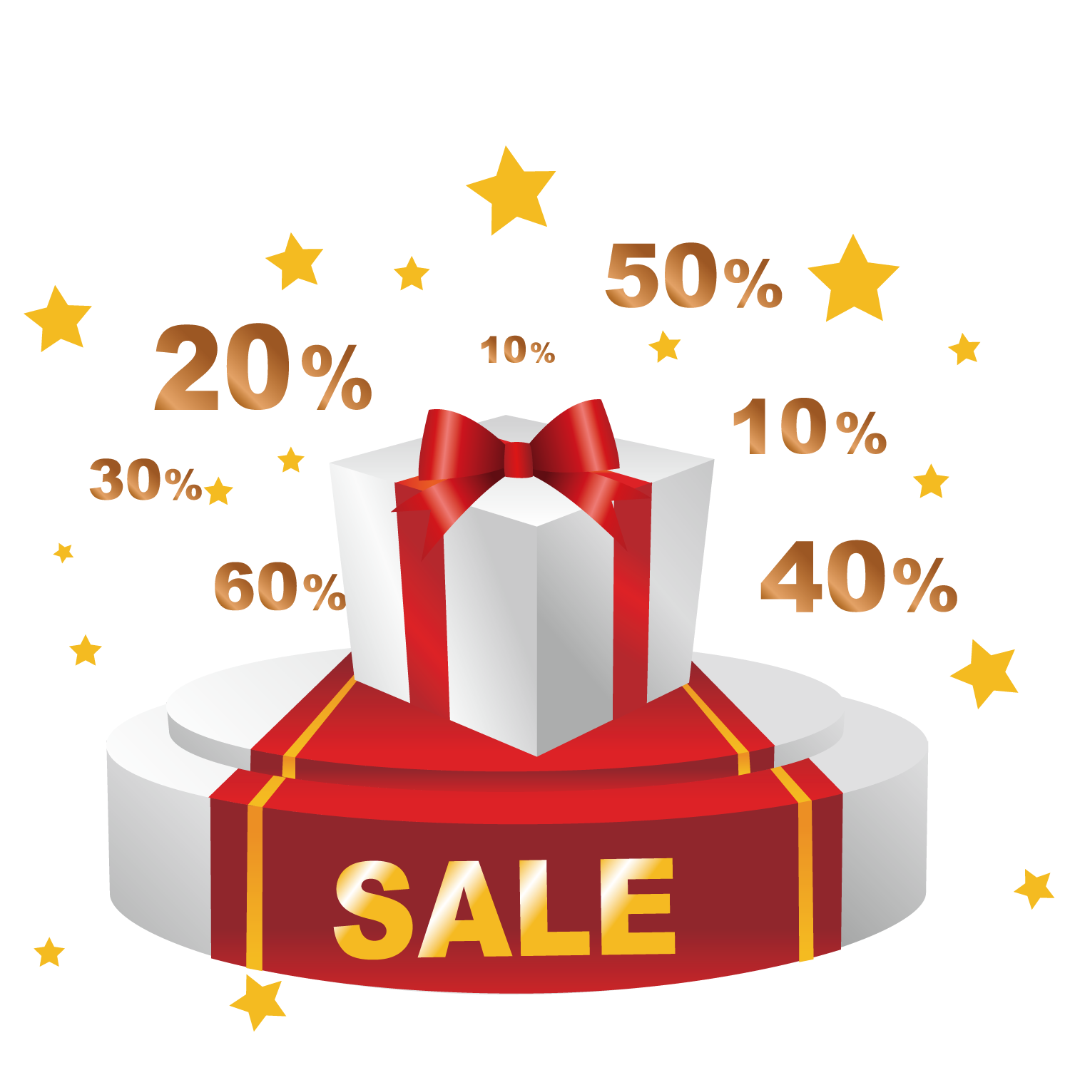 Promotion Net Sales Gift Discount Download Free Image PNG Image
