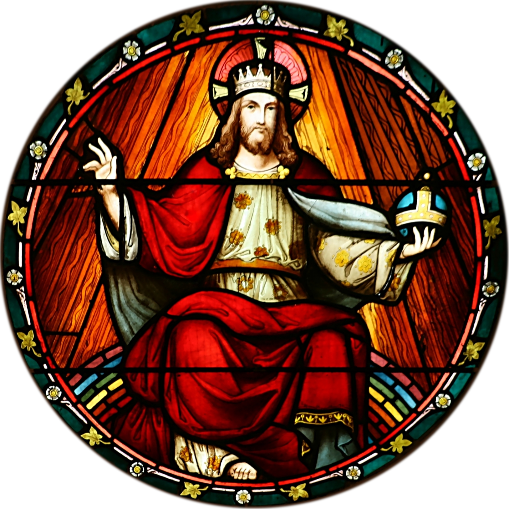 King Christ Rights Of Stained Feast Quas PNG Image