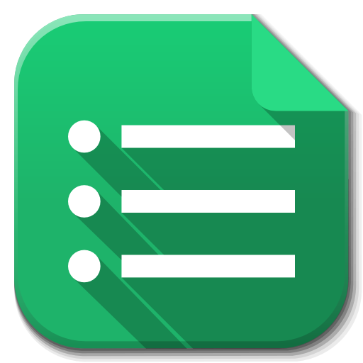 Google Angle Symbol Apps Drive Forms Green PNG Image