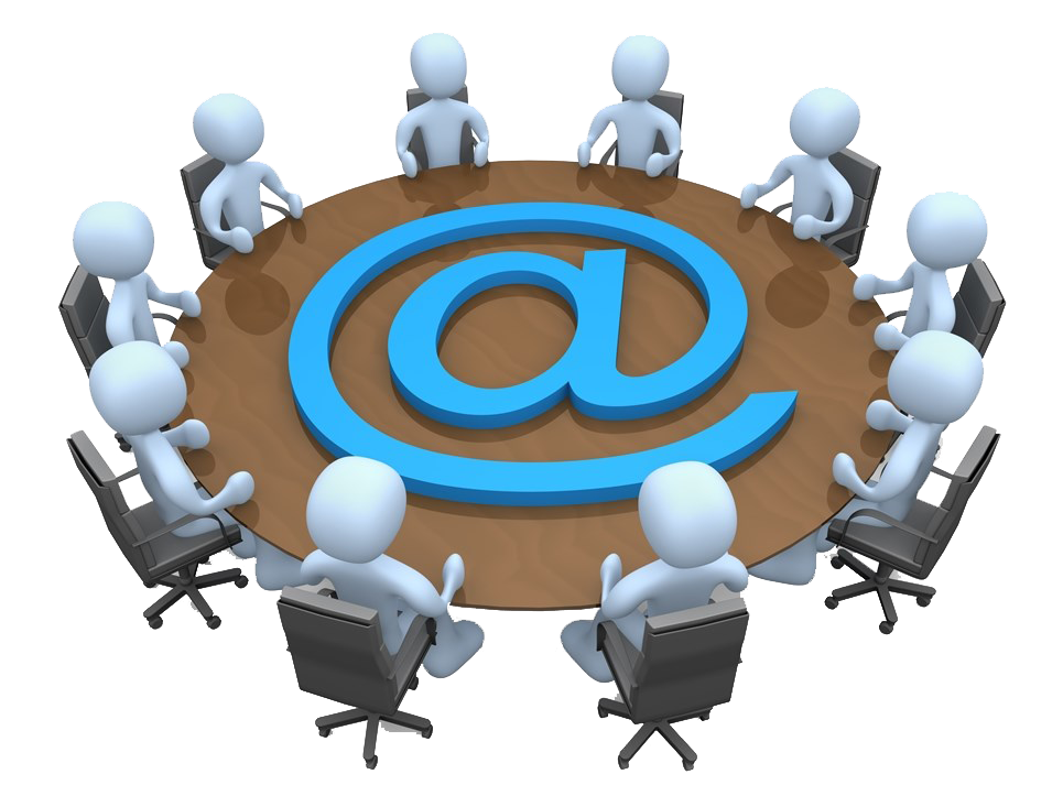Meeting Electronic List Online Mail Gmail Mailing PNG Image