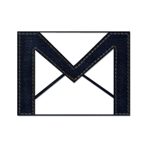 Square Angle Pattern Black Line Gmail PNG Image