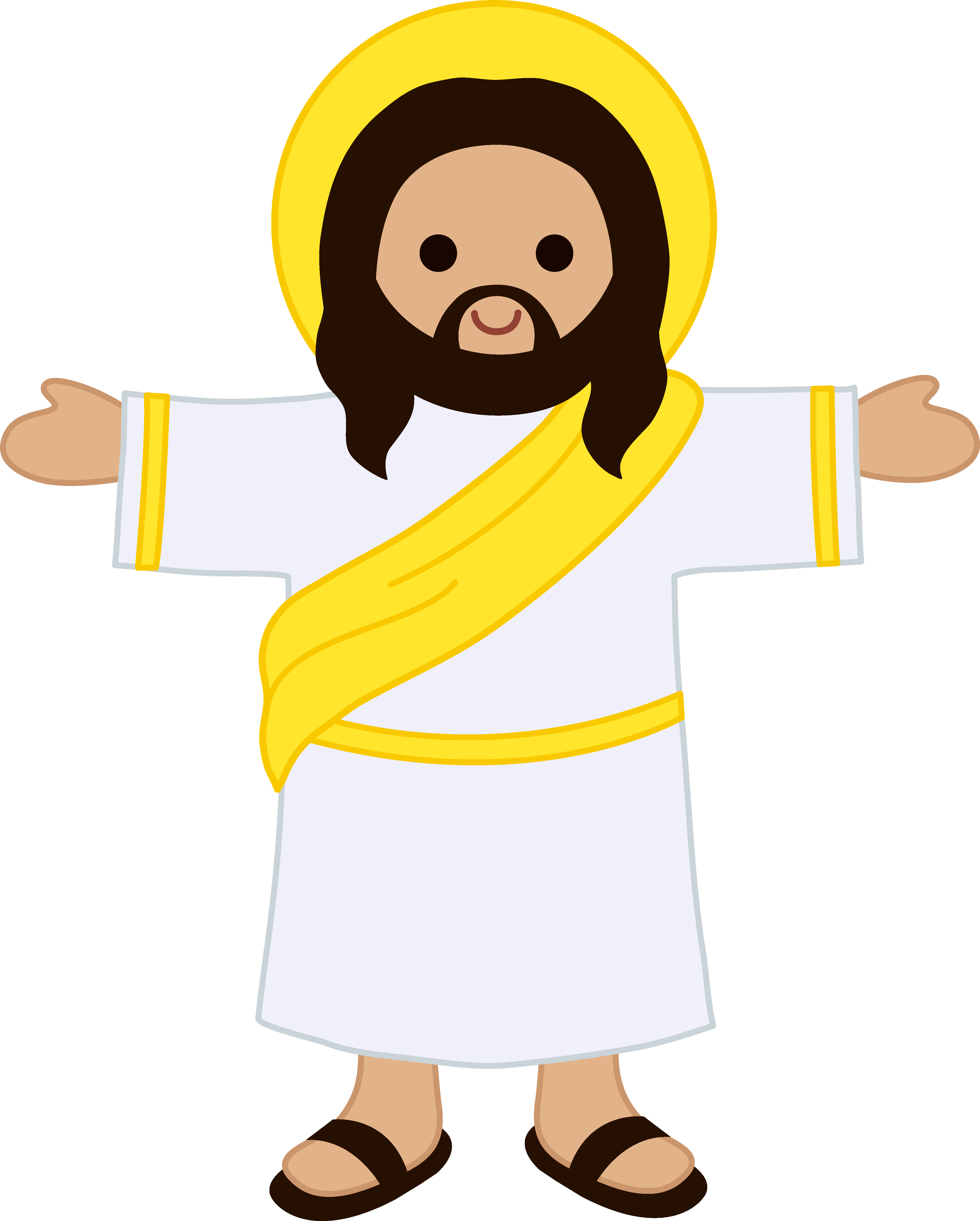 God Christianity Messiah In Free Frame PNG Image