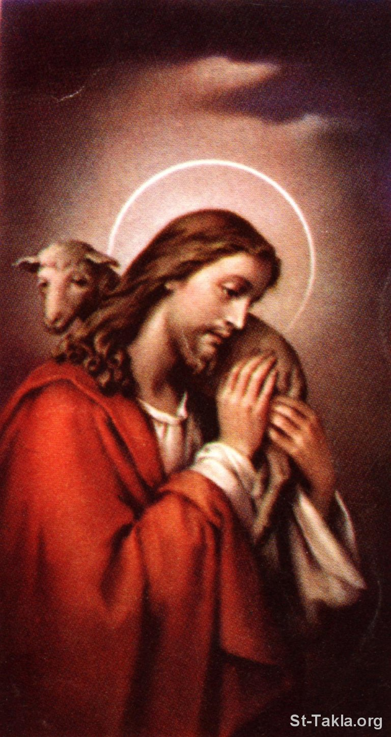 Shepherd Good Christ Holy Jesus The Card PNG Image