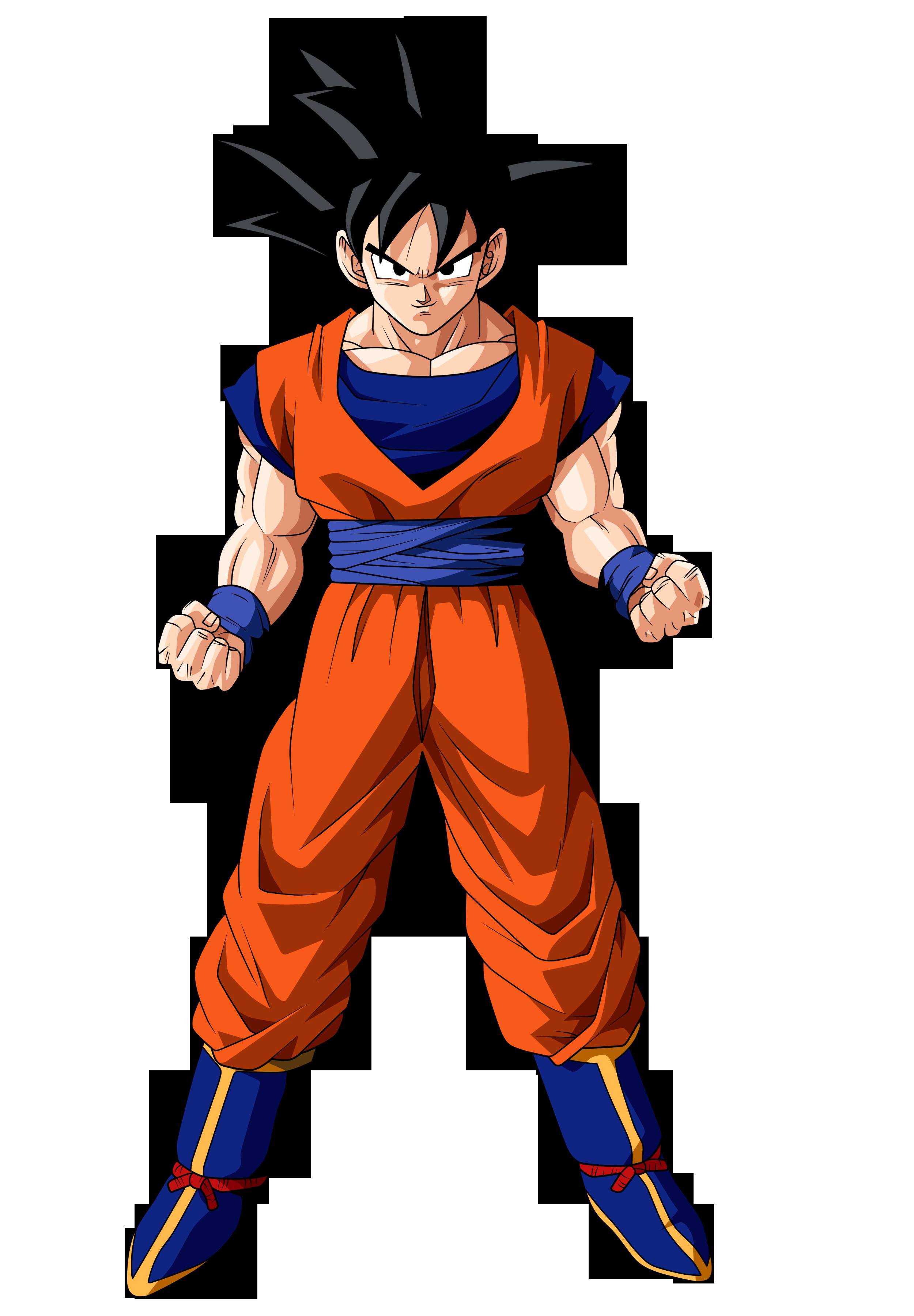 Download Goku Transparent Image HQ PNG Image | FreePNGImg