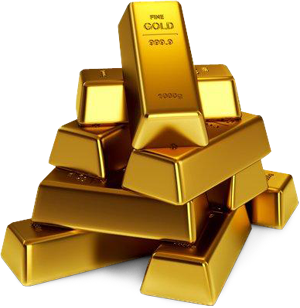 Gold Picture PNG Image
