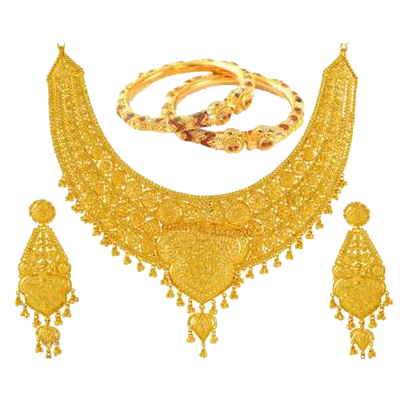 Gold Jewelry Photos PNG Image